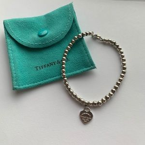 Tiffany & Co. sterling silver bead bracelet